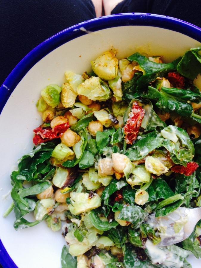 3-Ingredient Vegan Dressing in 3 SuperfoodSalads