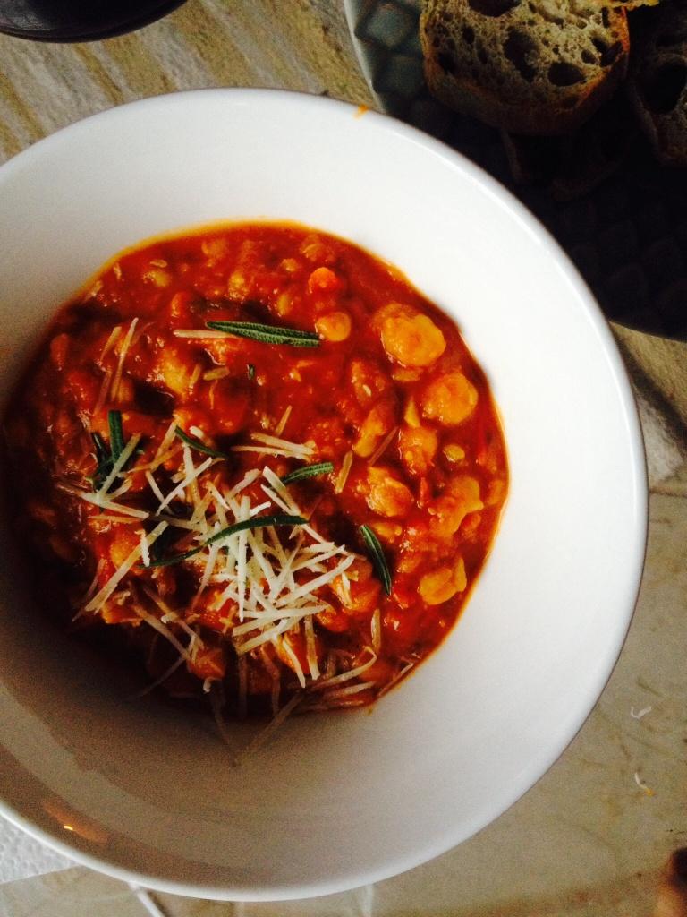 Chickpea & Tomato Soup
