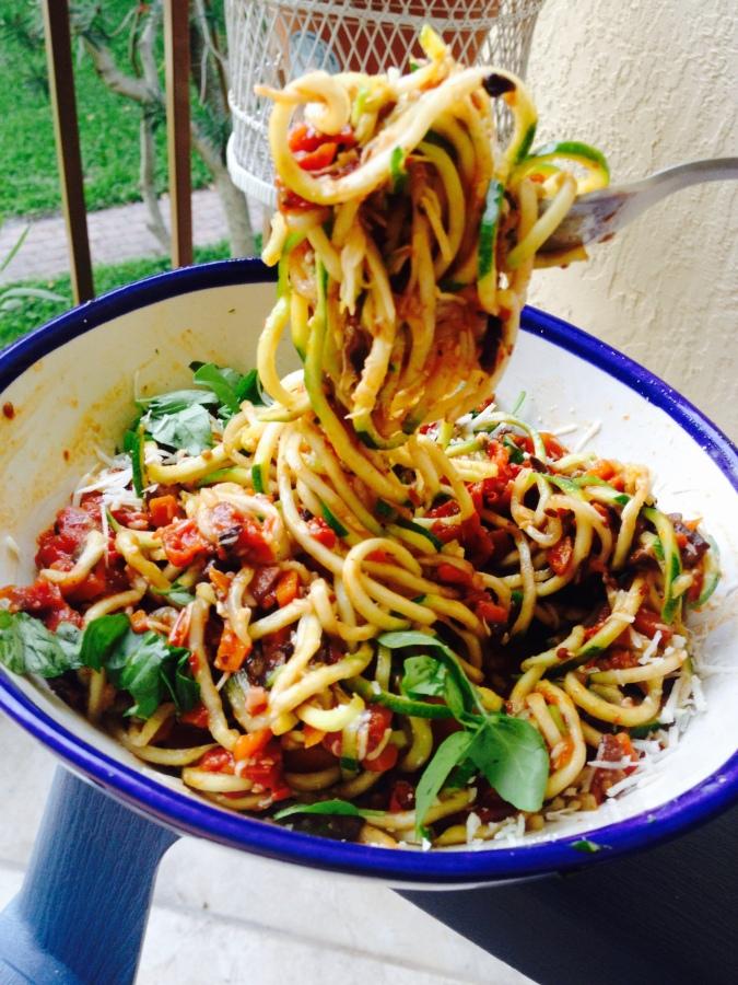 "Mushroom Bolognese ""Pasta"""