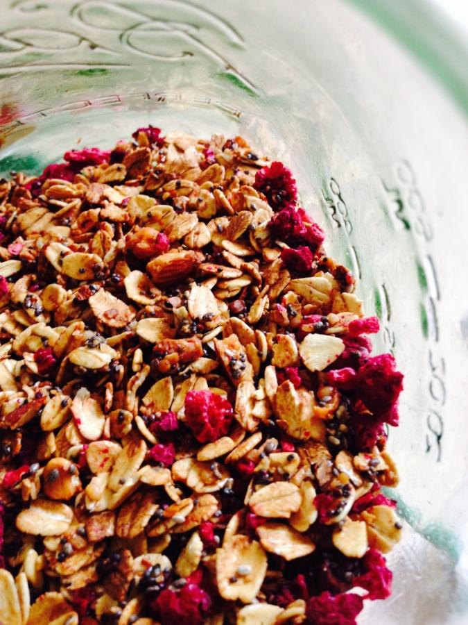 Lemon Poppy Seed & Dried Raspberry SuperGranola